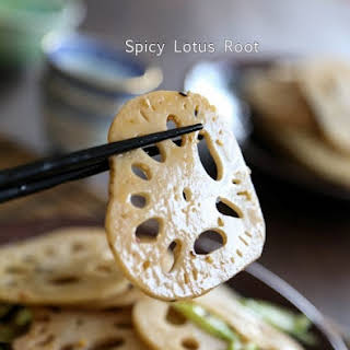 Spicy Lotus Root 香辣炒蓮藕.