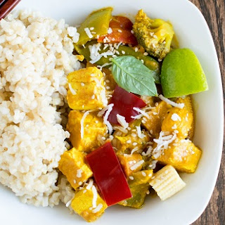 Asian Tofu Curry.