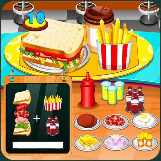 Sandwiches maker restaurant Icon