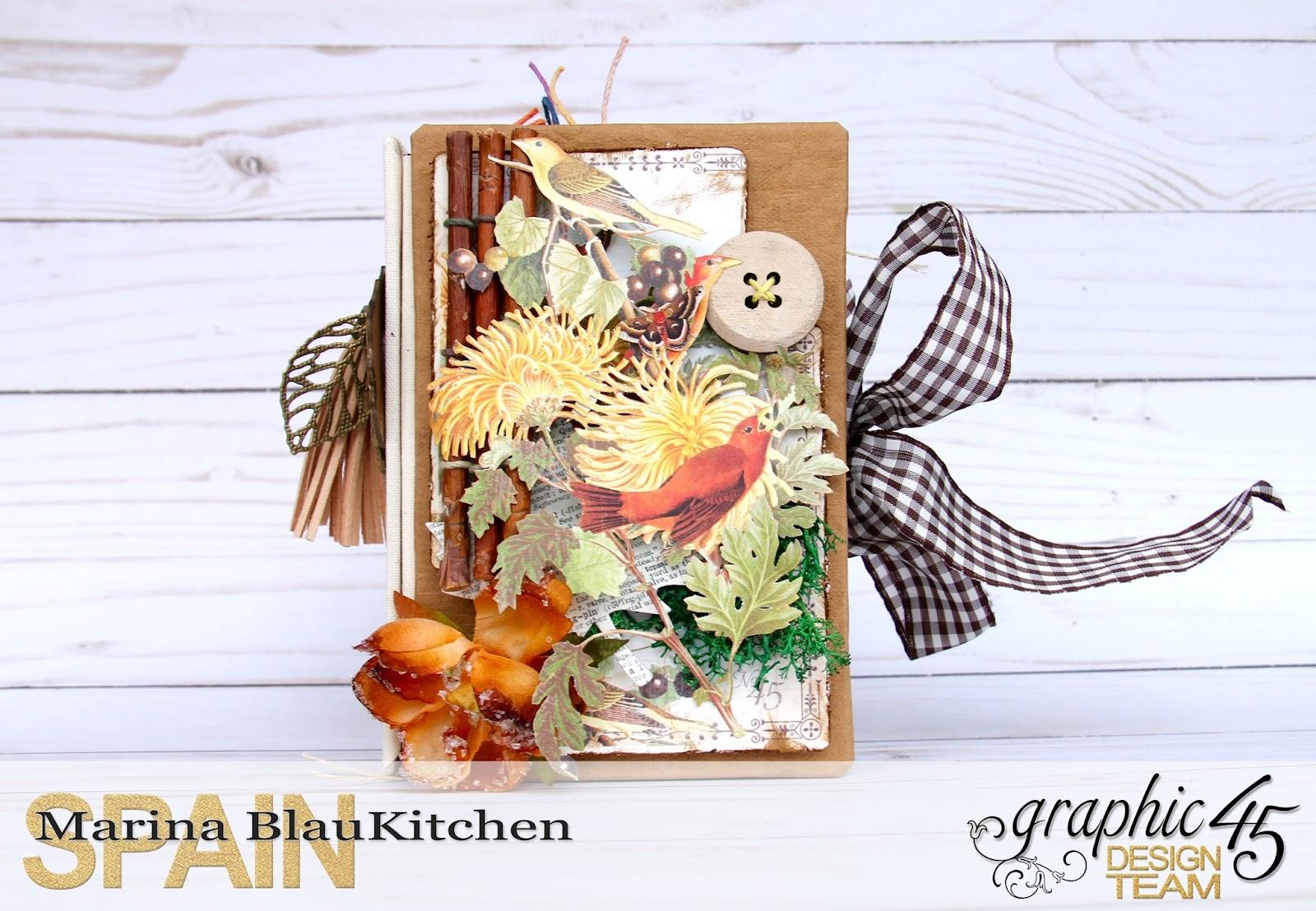 Four seasons Autumn Album by Marina Blaukitchen Product by Graphic 45 photo 5.jpg