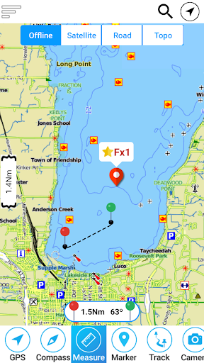 Lake of the Woods Offline GPS Charts screenshot 1