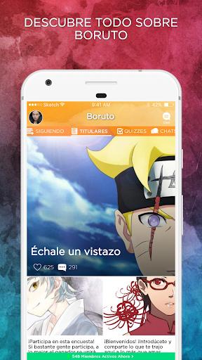 Boruto Amino en Español APK MOD – ressources Illimitées (Astuce) screenshots hack proof 1