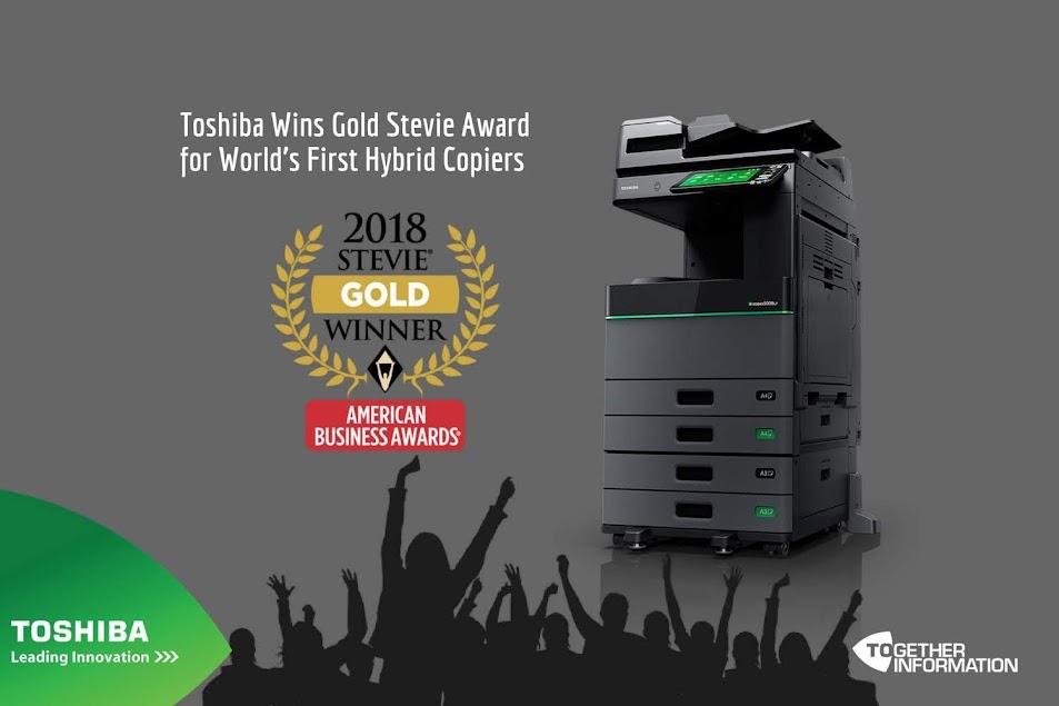 Giải thưởng Stevie 2018 dành cho công nghệ của Toshiba
