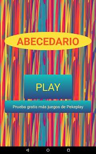 Abecedario para niños  Español- screenshot thumbnail