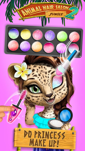 Jungle Animal Hair Salon 2 - Tropical Beauty Salon screenshots 1