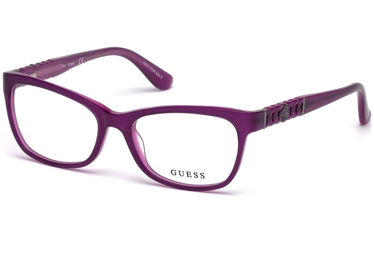 9dfc4ecb042354 Buy Guess GU2606 C52 081 (shiny violet   ) Frames   opti.fashion