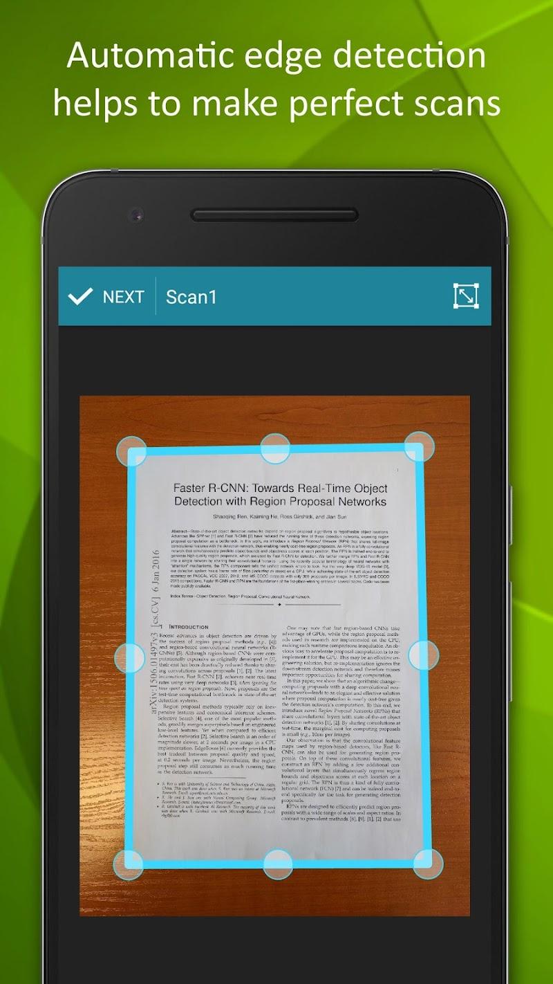 Smart Doc Scanner: Free PDF Scanner App Screenshot 1