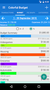 Colorful Budget- screenshot thumbnail
