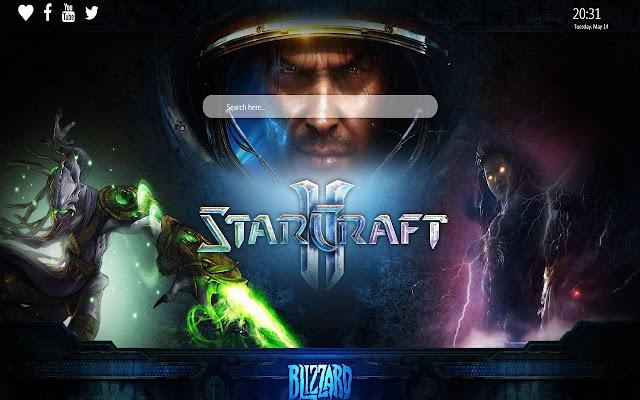 Starcraft Wallpaper Google Chrome Theme