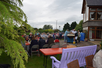 Photo: A section of the guests at our charity BBQ to raise funds for GIFT.