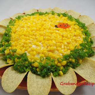 """Sunflower"" Layered Salad"