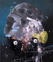 Photo: dritte mahnung_oil on canvas_70 x 60 cm