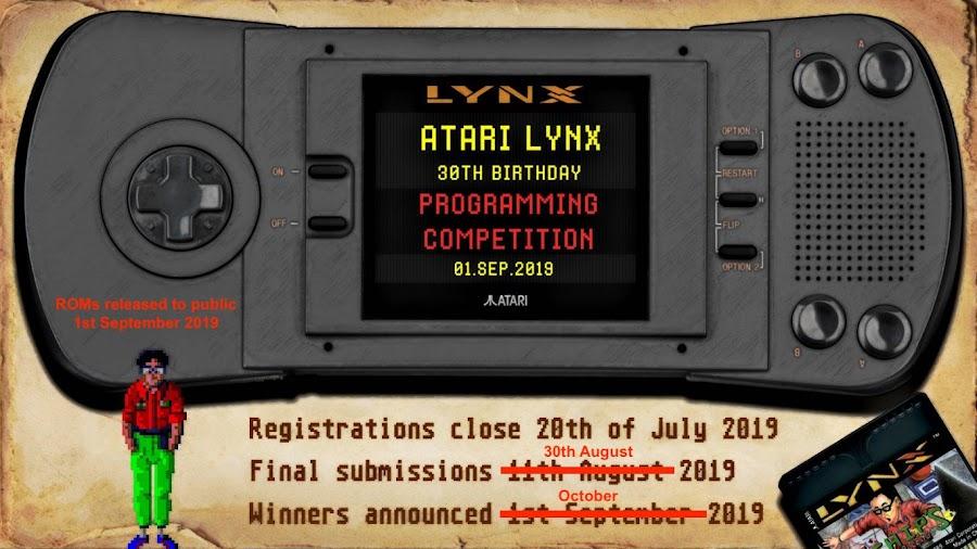 Atari Lynx 30th Birthday Programming Competition   Atari Gamer