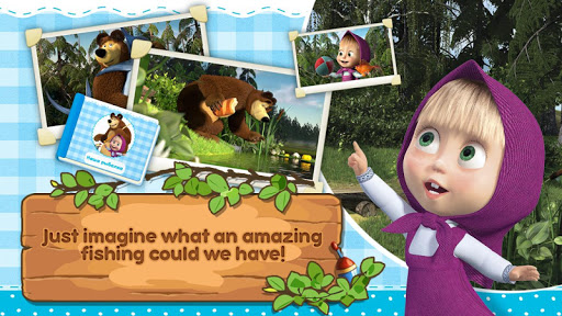 Masha and the Bear: Kids Fishing 1.1.7 10