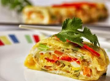 Korean Egg Rolls / Gyeran Mari / Asian Egg Roll !!