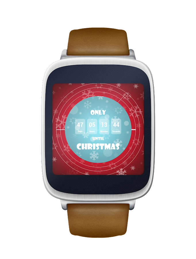 Christmas Countdown Watch Face Android Apps On Google Play