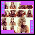 Simple Hijab fashion icon