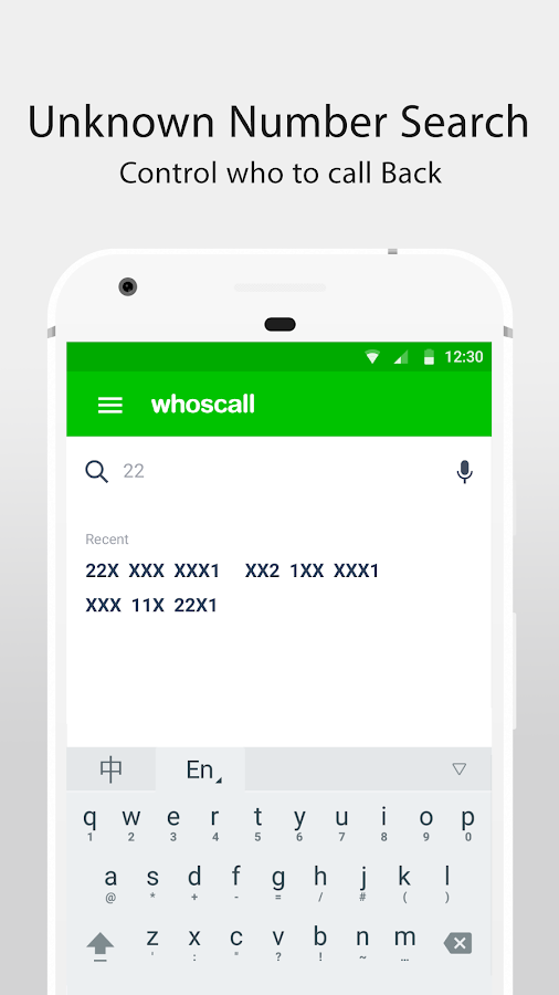 Screenshots of Whoscall - Caller ID & Block for iPhone