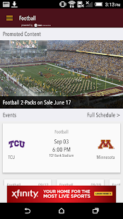 Minnesota Gophers Gameday LIVE- screenshot thumbnail