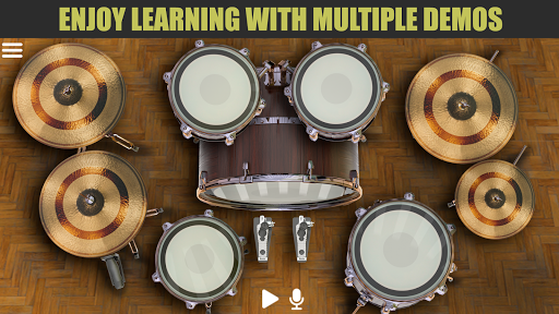 Drum Solo HD  -  The best drumming game apkpoly screenshots 2