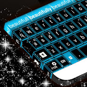 App Glowing Blue Neon Keyboard APK for Windows Phone