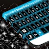 Blauer Neon zum GO Keyboard