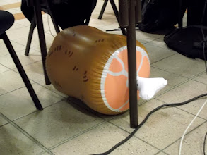 Photo: FREE (inflatable) FOOD !