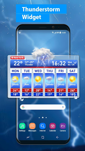Weather Report & Temperature Widget 15.1.0.45733_45904 screenshots 1