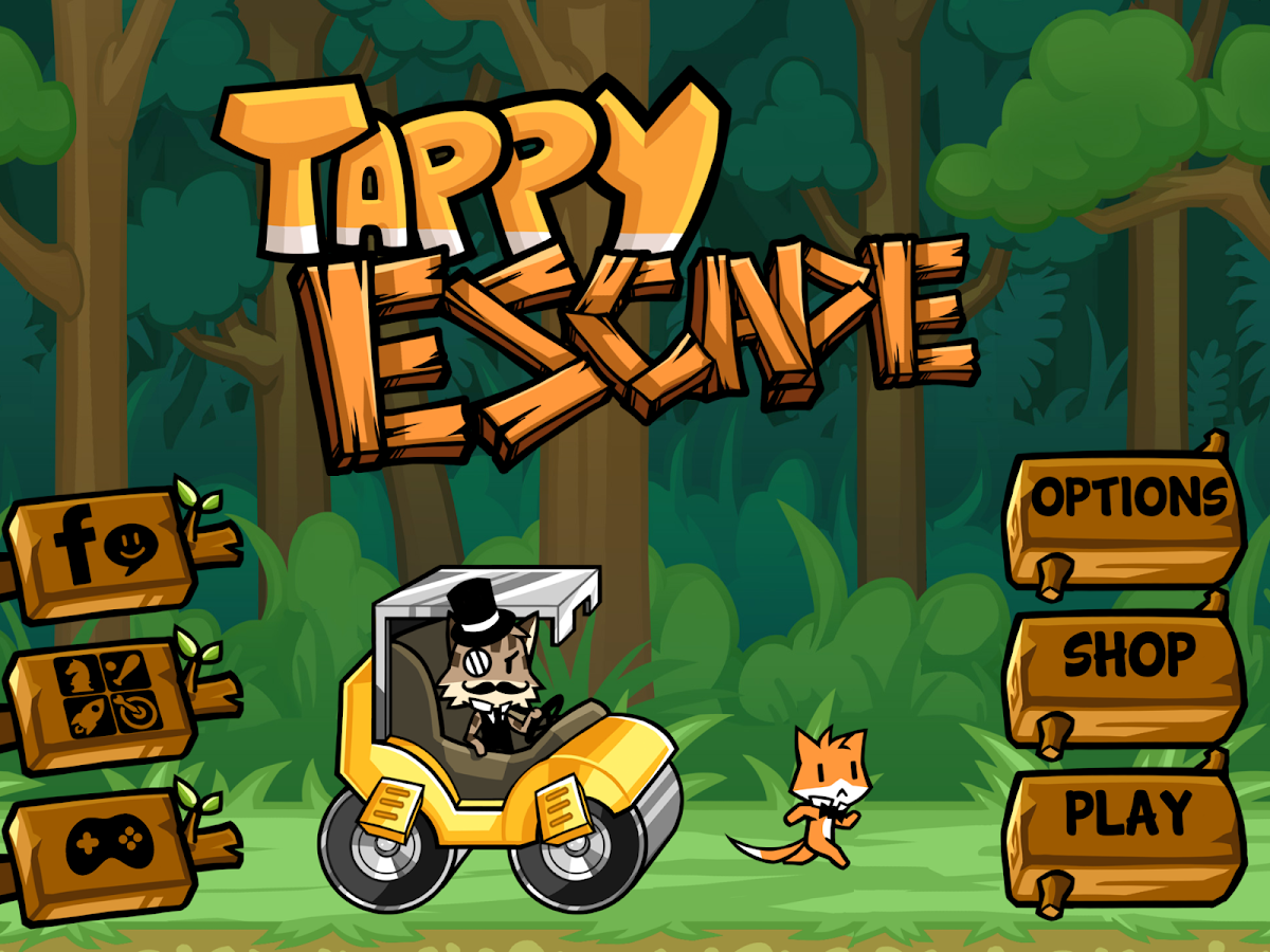 Tappy Escape - The Running Fox- screenshot