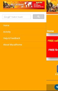 MyCallHome screenshot 2