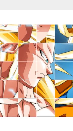 Dragon Saiyan Puzzle screenshot 2