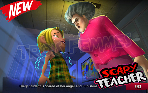 Walkthrough for 3D Scary Teacher 2020 1.0 screenshots 3