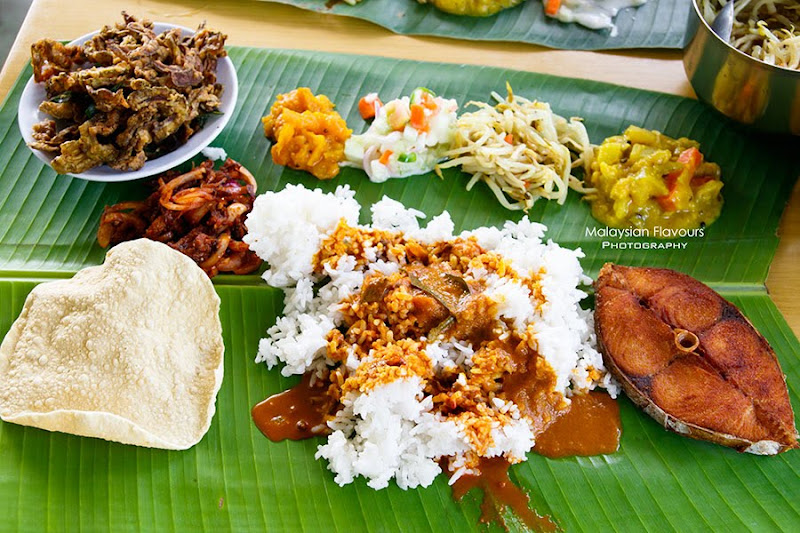 Banana Leaf Rice Acha Curry House Banana Leaf Rice