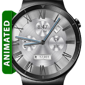 Classic White HD Watch Face
