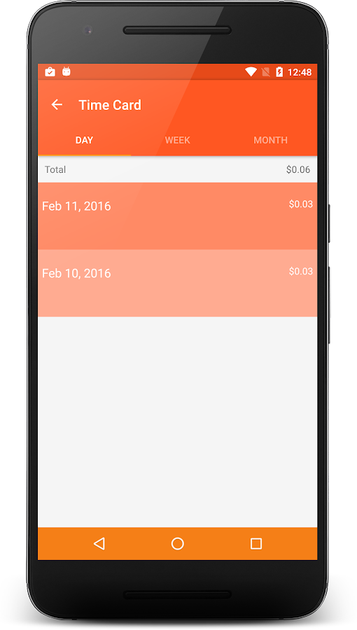 Time Cards: Time Tracking- screenshot