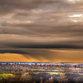 Northern Central Valley, Ca by Michael Mercer - Landscapes Weather ( rain,  )