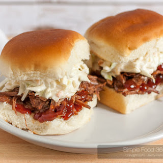 Barbecue Shredded Beef Sliders