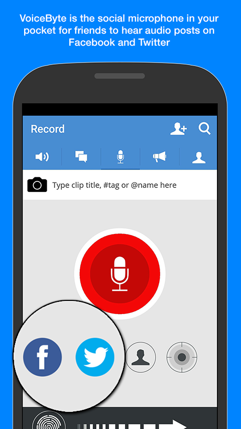 VoiceByte- screenshot