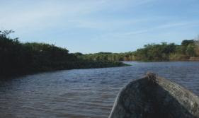 Photo: Passeio de canoa a tarde