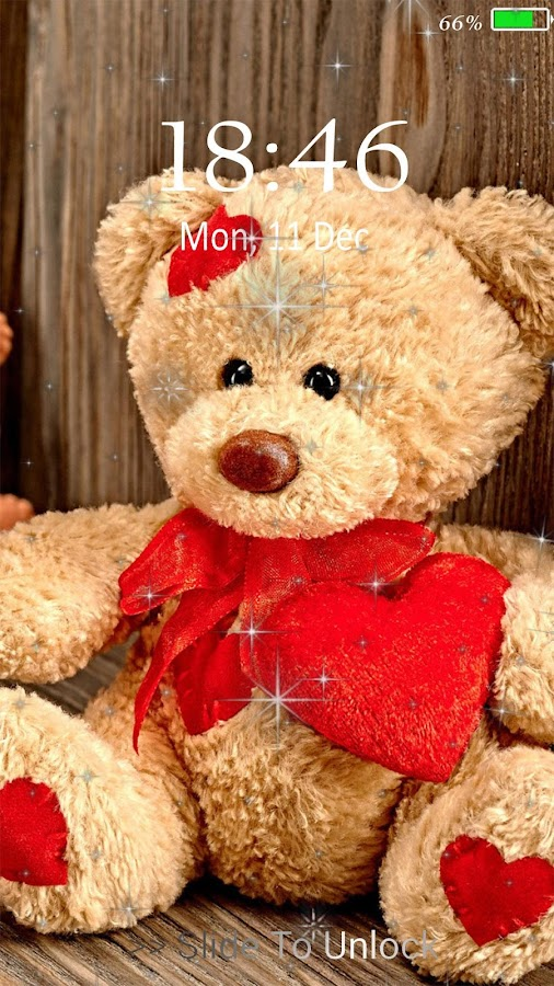Teddy Bear live wallpaper & Lock screen - Android Apps on Google Play