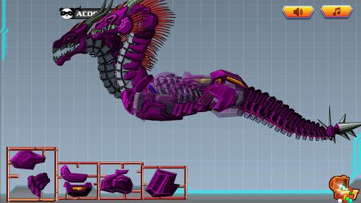 玩具机器人大战:机械双头龙