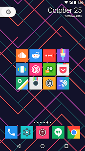 Minimal UI - Icon Pack Screenshot