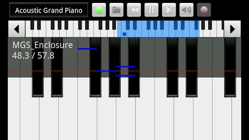 xPiano  screenshot 1