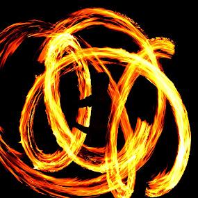 Playing with fire!! by Debarpan Sengupta - People Street & Candids