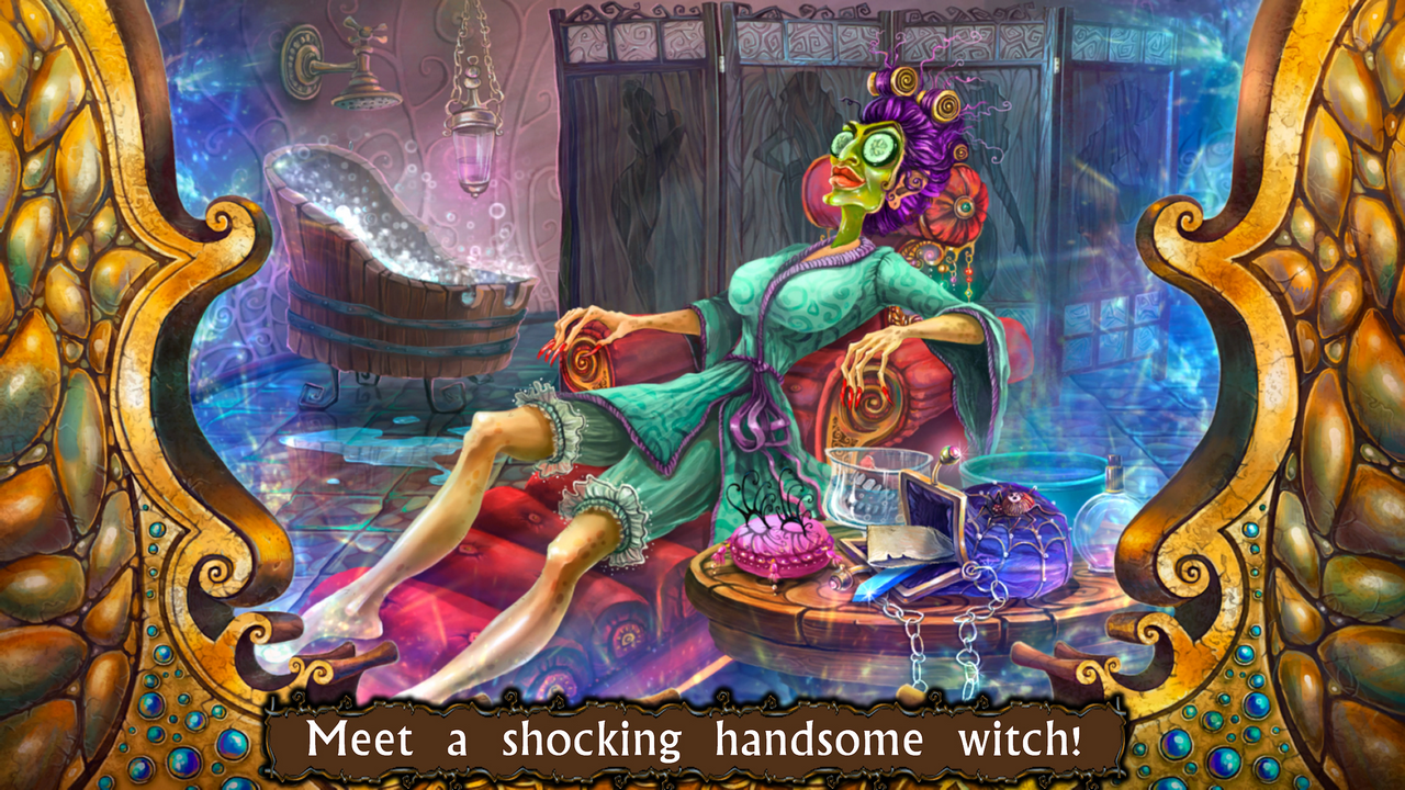 Witch's Pranks: Frog's Fortune- screenshot