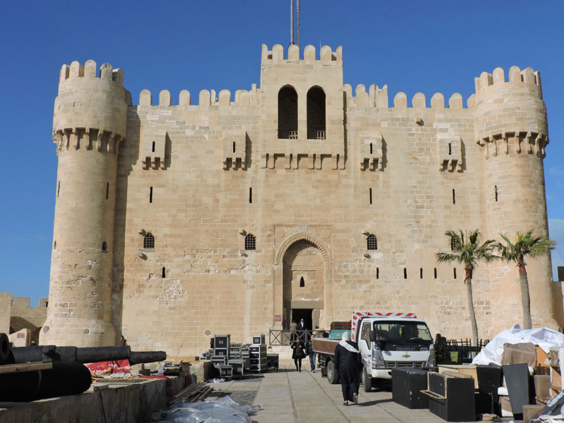 Форт Кайт-Бей в Александрии