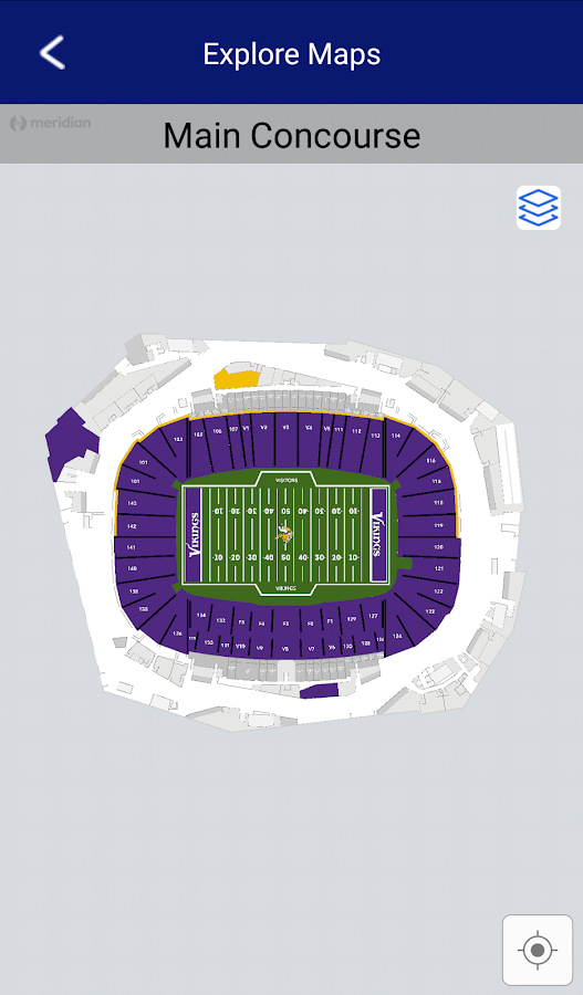 US Bank Stadium Android Apps On Google Play - Us bank stadium concourse map