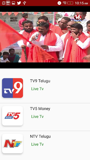 Telugu News Live TV 24X7 screenshots 2