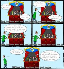 Photo: http://www.bonkersworld.net/puppet-show/ #comic #bonkersworld