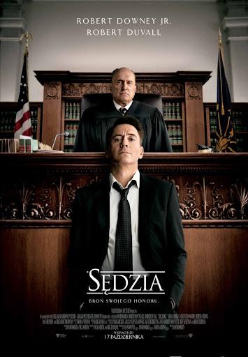 Polski plakat filmu 'Sędzia'